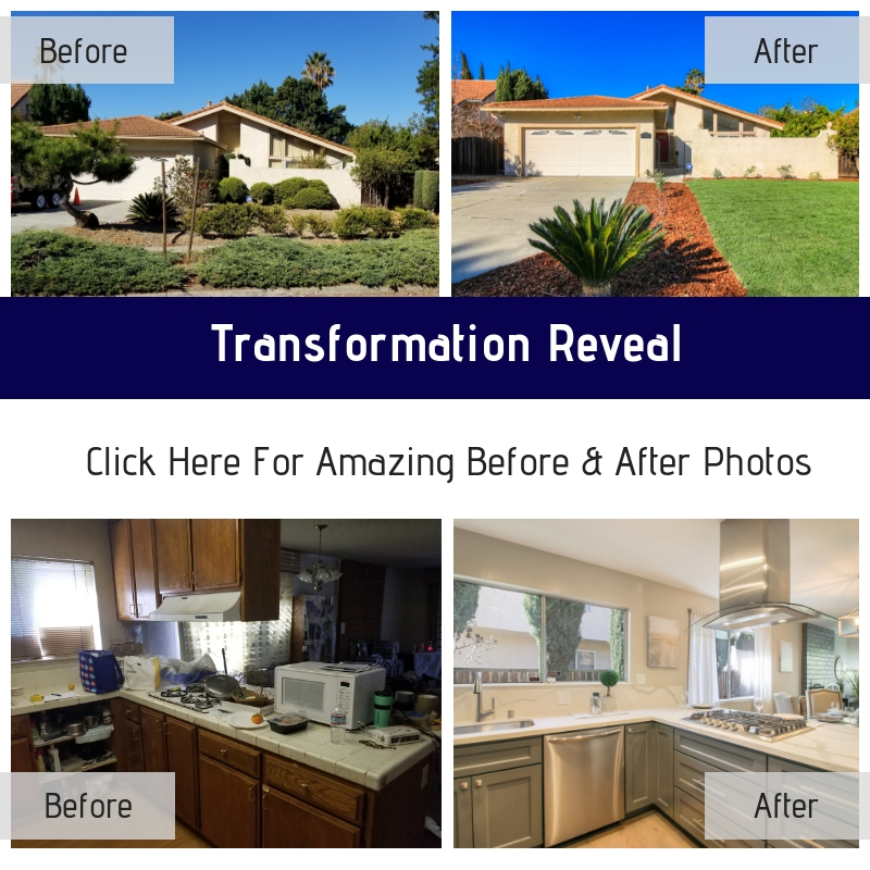 Before and After Reveal for Our Greatest Transformation to Date!