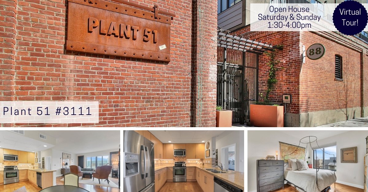 [Virtual Tour] 2 Bed/ 2 Bath at the Highly Desired Plant 51- Just Listed!