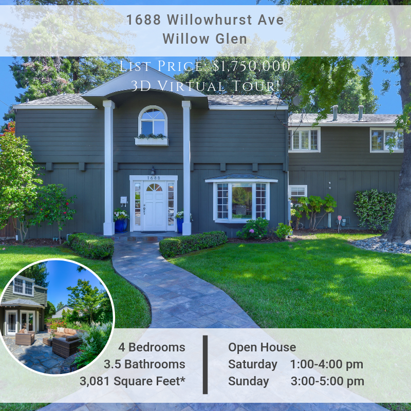 [Virtual Tour] Stunning, Remodeled Willow Glen Home- Just Listed!