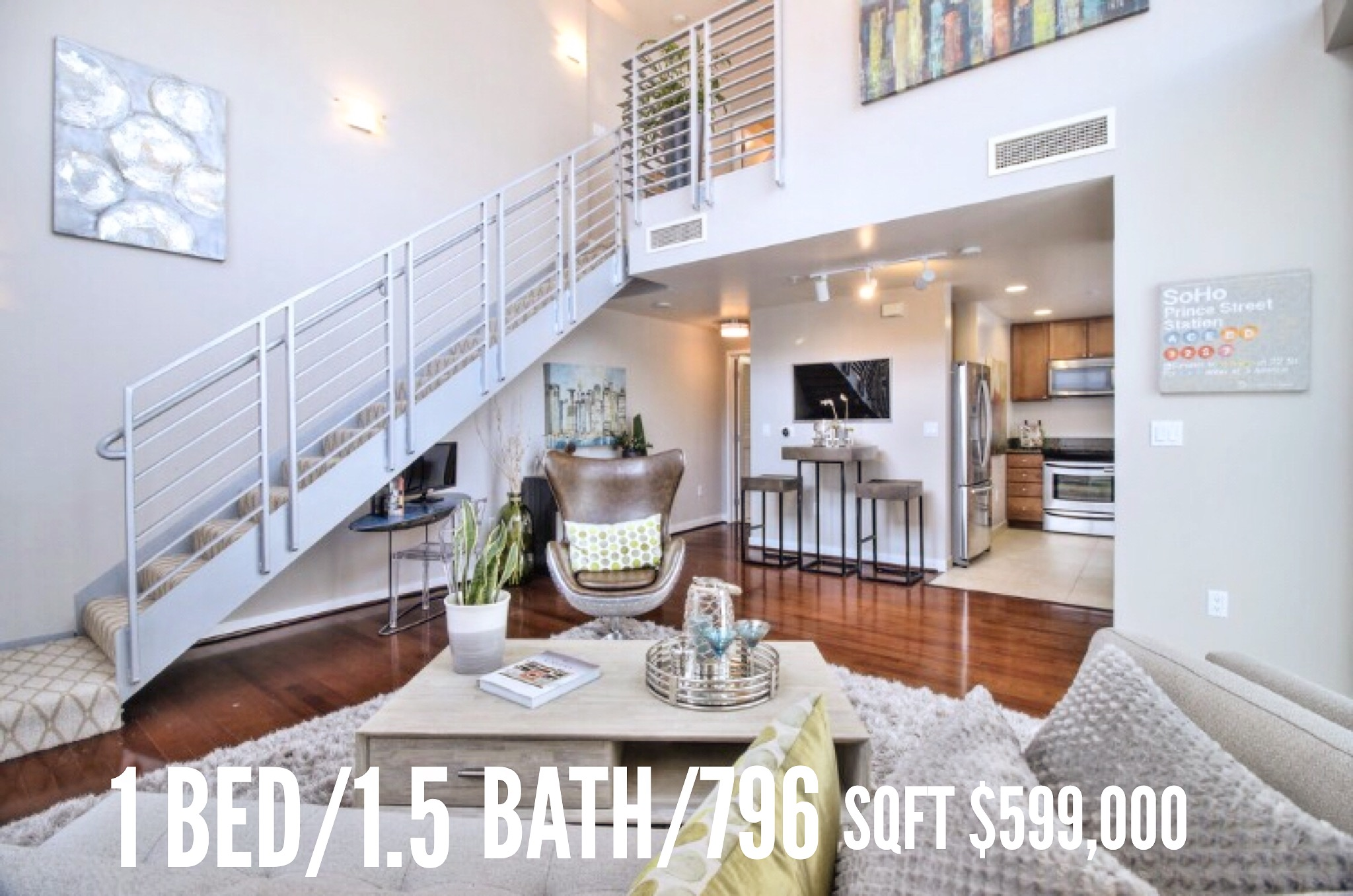 Rare, Corner Loft at City Heights On The Market: View Now With Our Virtual Tour!
