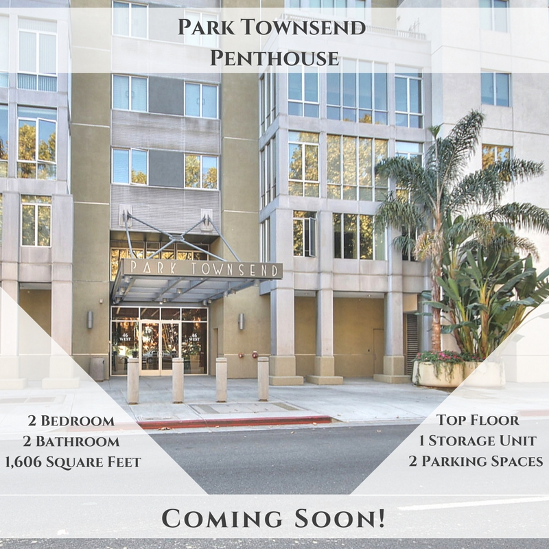 Penthouse at Park Townsend, Coming Soon!