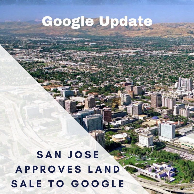 San Jose City Council Approves Sale of Land to Google