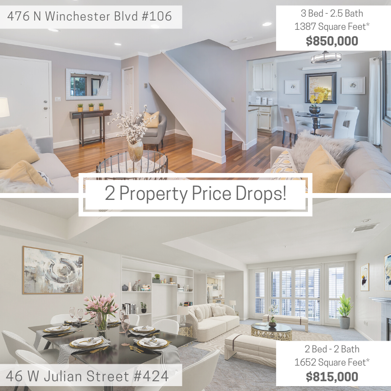 2 Property Price Drops!