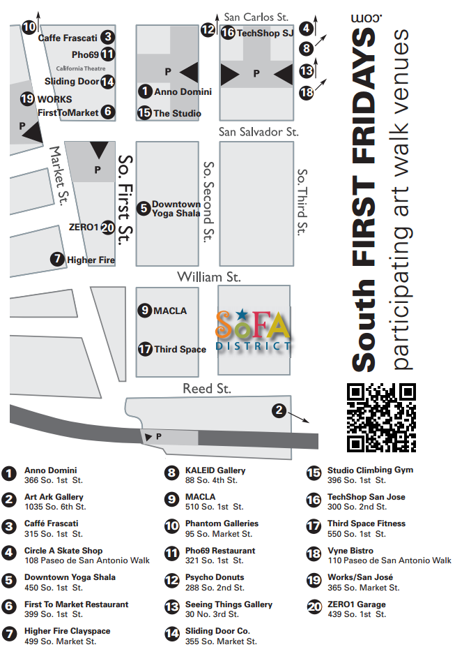 Experience South FIRST FRIDAYS